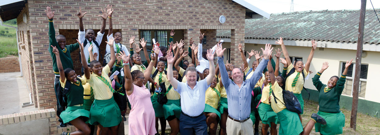 saint gobain schools for Africa Isipingo South Africa
