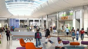 Saint-Gobain provided solutions for one of South Africa's largest shopping malls
